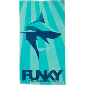 Funky Trunks Towel Boys, turchese/blu